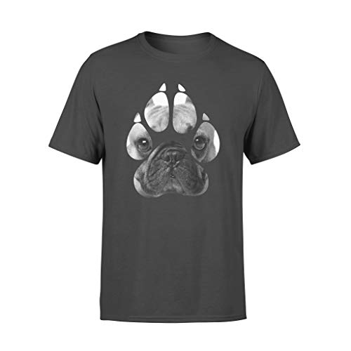 Micerice Camiseta divertida de Bulldog francés con diseño de perro de Bulldog francés con la pata de Frenchie