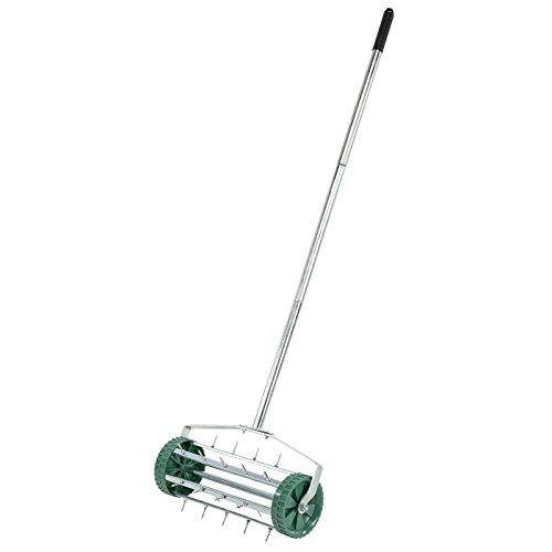 Draper 83983 Rolling Lawn Aerator with 450 mm Spiked Drum