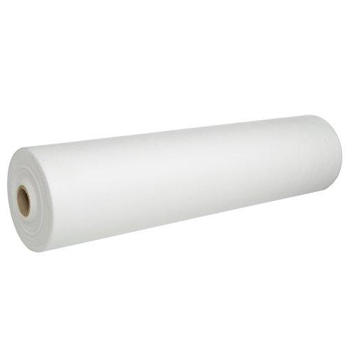 """1 Beauty-Spa-Medical Perforated Disposable Bed ROLL, Non-Woven Exam Bed Cover, 55 Sheets, 24"""" X 330' Thick 35 GSM, Massage Bed Sheets, Table Covers for Spa, Massage, Facial, Lash, Wax, Micro-Needle"""