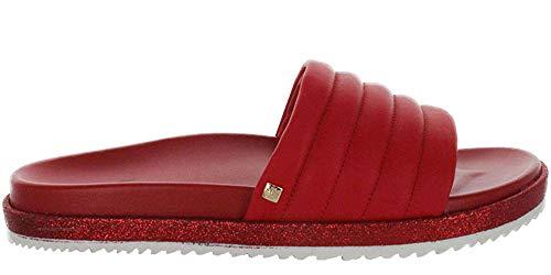 HÖGL Mädchen Wavy Pantoletten, Rot (Scarlet 43, 35 EU