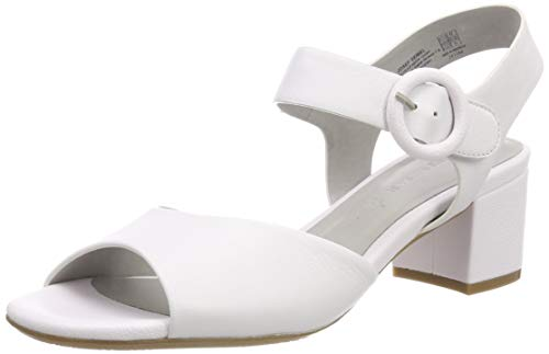 Gerry Weber Shoes Damen Faro 01 Slingback Sandalen, Weiß (Weiß 000), 39 EU