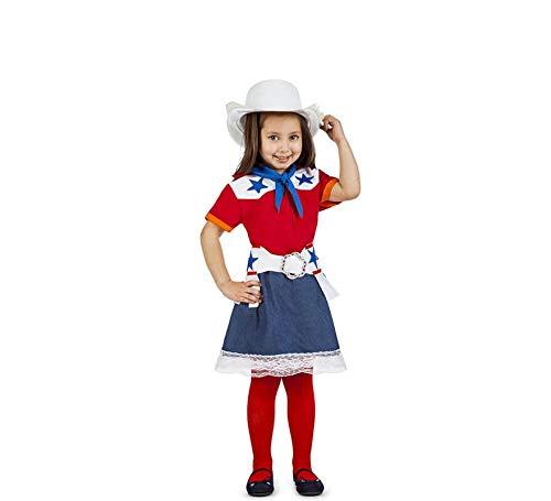 Car&Gus Disfraz de Vaquera Rodeo para niña