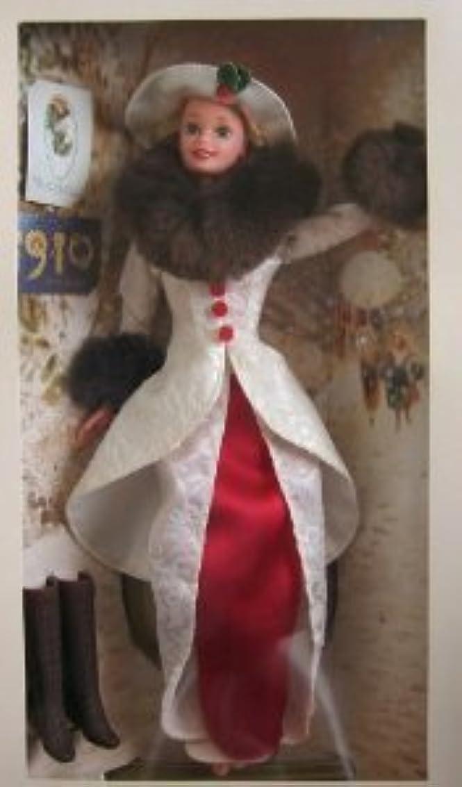 靴下不純テンポBarbie(バービー) Year 1995 Hallmark (ホールマーク) Special Edition 12 Inch Doll - Holiday Memories Barbie(バービー) with Red Satin Dress...