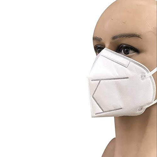Honeywell PM 2.5 Anti-Pollution Foldable Face Mask (Classy White ,Pack of 10)