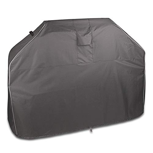 Leader Accessories Heavy Duty 600D Barbecue Gas Grill Cover Waterproof BBQ Cover for Weber,Brinkmann, Char Broil, Holland and Jenn Air-58 in.L x 24 in.W x 48 in.H Covers Grill