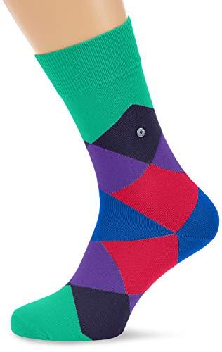 BURLINGTON Herren Socken Clyde - Baumwollmischung, 1 Paar, Grün (Scarab Velvet 7704), Größe: 40-46