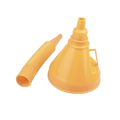 ooege OOE Vehículo de plástico Relleno de Filtro de engreído del Aceite Universal con la Herramienta de reparación de Coches (Color : Yellow)