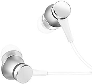 Xiaomi Mi Original Piston Headset Auriculares Versión Básica con Mando y Micrófono, Plata