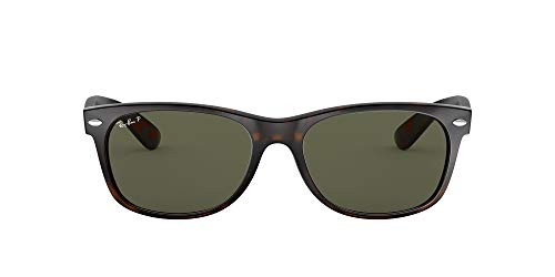 Ray-Ban 2132, Gafas de Sol Unisex, Multicolor (Marrón Havana), 52 mm