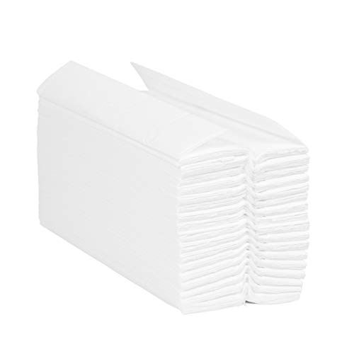 Blake & White Purely Smile C-Fold Hand Towel White | 2 Ply | Case of 2350...