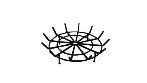 Round Spider Grate for Outdoor Fire Pit (28' Diameter 6' Legs)