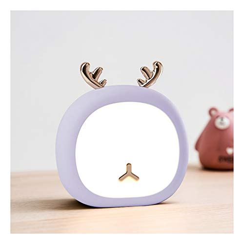 Lampara de Lectura Luz de la noche modernos lindo ajustables ABS regulables al lado del escritorio 3 nivel de brillo de sensor de contacto for habitación de los niños Lámpara de Escritorio Moderna