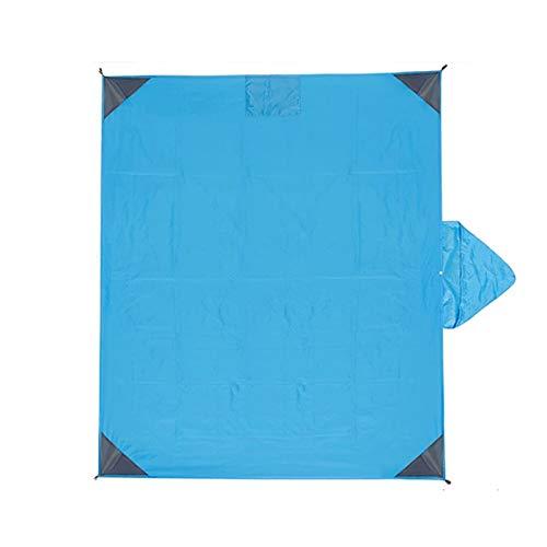 ZZDH Manta Picnic Playa Alfombra Manta de Playa, Portátil Lightweight Impermeable Pocket Pocket Manta de Picnic para Viajes al Aire Libre Camping Senderismo Actividades
