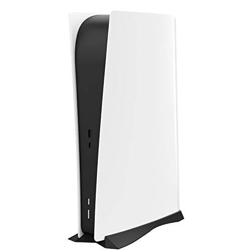 TPFOON Soporte Vertical para PS5 Edición Digital, Enfriador de Soporte para Consola Sony Playstation 5 DE con Salidas de Aire Incorporadas y Pies Antideslizantes