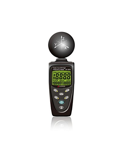 hf-b3g 3-axis HF RF Meter analizzatore e rilevatore di misurazione 50MHz–3.5GHz EMF radiation da cellulari Smart contatori Cell Towers WiFi