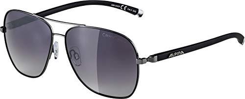 Alpina Limio outdoorsportbril, Gun-Black, één maat