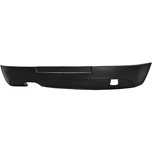Stoßstange hinten unterteil für V 5 GT GTI Bj. 03->> schwarz Kunststoff