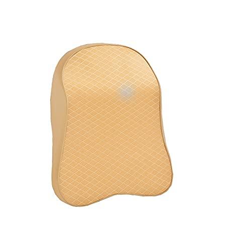 Almohada Cabeza para Coche Almohada de cuello de cuello de la cabeza de la cabeza ajustable Memoria 3D Espuma de la espuma del reposacabezas de la almohada del cuello de la almohada del cuello de la a