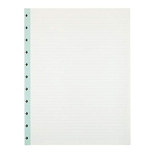 Office by Martha Stewart 1893003 Discbound Notebook Filler Paper Letter-Size 50 Sheets Blue (44460)