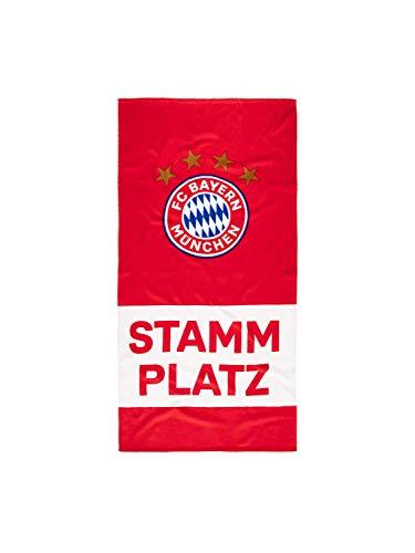 FC Bayern München Strandtuch Stammplatz 150 cm x 75 cm