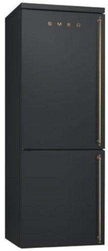 Smeg FA8003AOS Libera installazione 346L A+ Antracite frigorifero con congelatore