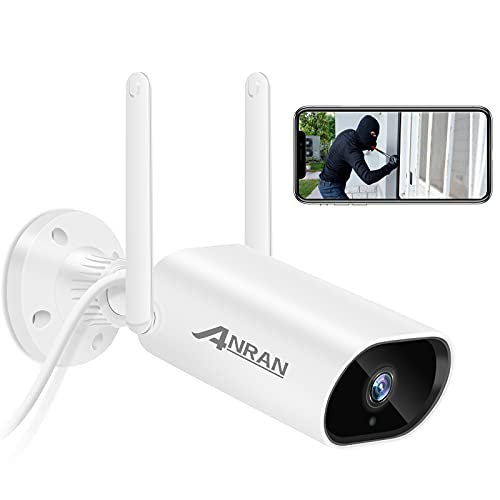 [Audio] WiFi Camera Outdoor ANRAN 1080P HD Two Way Audio Wireless Security...