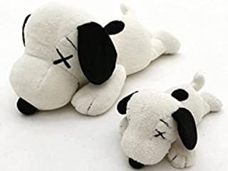 UNIQLO x KAWS PEANUTS Snoopy UT Toy Plush stuffed S & M Doll