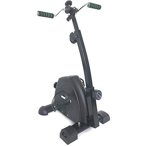 XHLLX Pedal Portátil Ejercitador - Mano, Brazo Y Pierna Máquinas De Ejercicios Venta Ambulante con El Monitor LCD - Ajustable Aparatos De Ejercicios De Rehabilitación para Personas Mayores