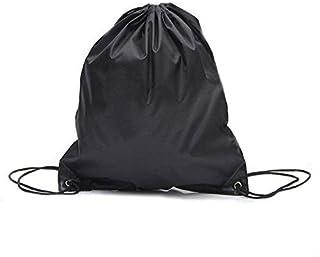 حقيبة كتب رياضية للسباحة مصنوعة من مادة البولي إيثيلين للبنات والأولاد والأولاد حقيبة ظهر سوداء اللون