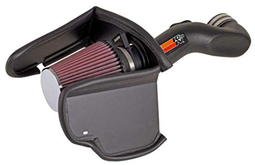 K&N Cold Air Intake Kit: High Performance, Increase Horsepower: 50-State Legal: Compatible with 2006-2008 Chevy Trailblazer, 6.0L V8,57-3061
