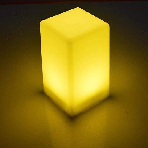 Lámpara de mesa Lámpara de escritorio LED de cubo moderna, elegante y simple, luz de noche LED de cubo con dise?o de forma de cubo, ABS hecha de lámparas para dormitorio, escritorio, bar, bar, fiesta