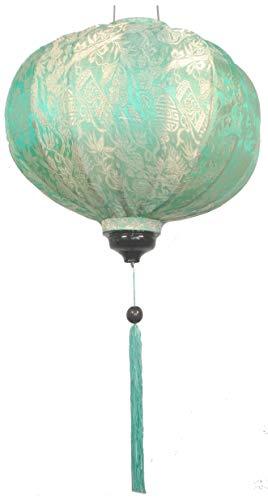 Vietnamees Oriental Silk Bamboe Handgemaakte lantaarn lamp Chinese Mint 14