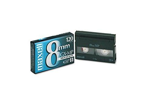 Maxell 8mm Video Cassettes Cassette,8MM Video 168501 (Pack of 2)