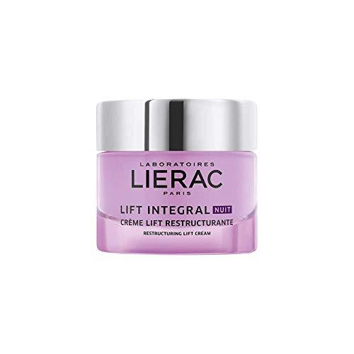 Lierac Lift Integral Crema Viso Antirughe Ristrutturante Notte con Acido Ialuronico, per Tutti i Tipi di Pelle, Formato da 50 ml