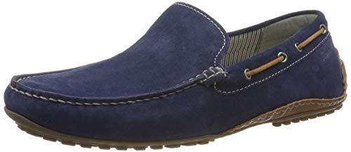 Sioux Herren Callimo Mokassin, Blau (Indaco/Cognac 008), 41.5 EU (7.5 UK)