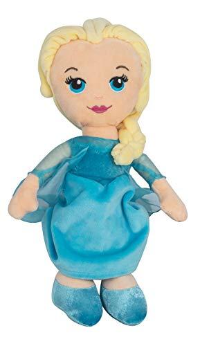 POS 76209 - Disney Frozen Plüschfigur Elsa, Weichpuppe ca. 30 cm groß, schon für Kleinkinder geeignet, wunderbar weich, Puppe zum Kuscheln und Liebhaben, ideal als Geschenk