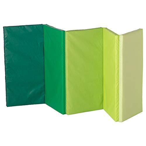 IKEA PLUFSIG Faltbare Turnmatten 2er Set grün