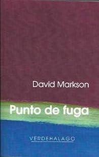 Punto de fuga par David Markson