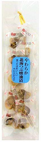 珍味 つぶ貝 おつまみ やわらか 北海つぶ 燻油漬 60g 送料無料 (送料込み)