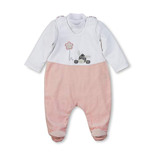Sterntaler Strampler-Set Nicki Emmi Girl, Alter: 3-4 Monate, Größe: 56, Weiß