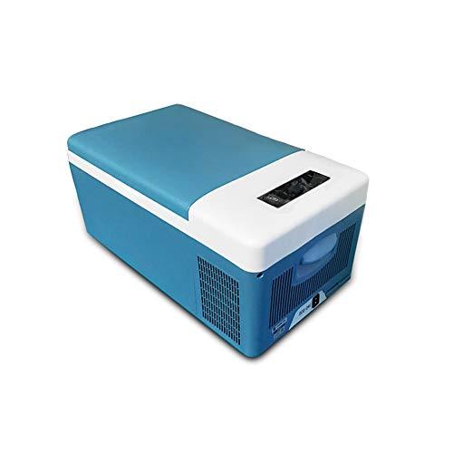 Flashing 15 l kleine compressor auto horizontaal kleine elektrische ijsconfectioneerder temperatuur auto A huis -20 ° C ijs crème