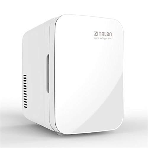 Autokühlschrank 12V 220V Auto Dual-Use-Heiß- und Kalt-Multifunktions-Mini-Gefrierschrank Warmer Doppelfrequenz-Kühlschrank (Farbe: Weiß)