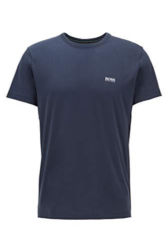BOSS Herren Tee T-Shirt mit Kontrast-Detail
