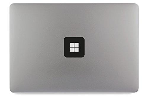 Windows 10 Logo Quadrat Apple MacBook Air Pro Aufkleber Skin Decal Sticker Vinyl 17