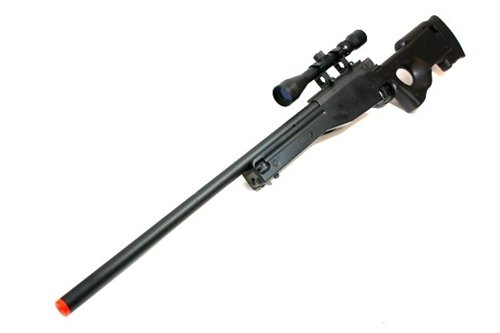 BBTac Airsoft Sniper Rifle 500 FPS BT-96 Full Metal Bolt Action AWP with 3x Scope Package