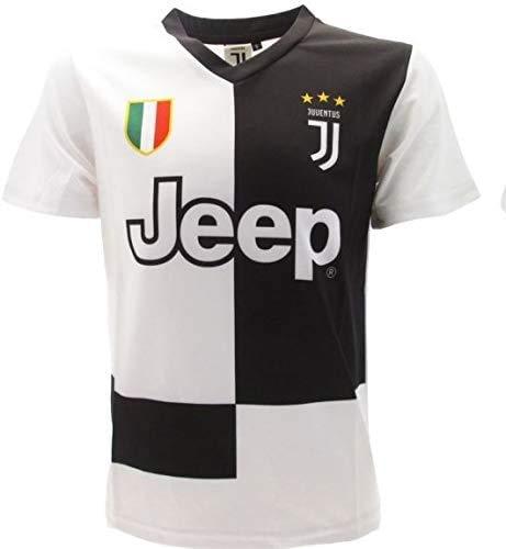 JUVE Maglia Juventus n.7 - Replica Autorizzata - Stagione 2019-2020 - Bambino e Adulto - Scegli la Taglia (Taglia 12 Anni)