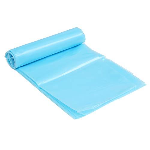 dDanke 20S 0,2 mm blaue Teichfolie für Garten, Landschaftsbau, Pool, Springbrunnen, PVC-Membran, verstärkte Pannensicherheit (3,5 x 5 m)