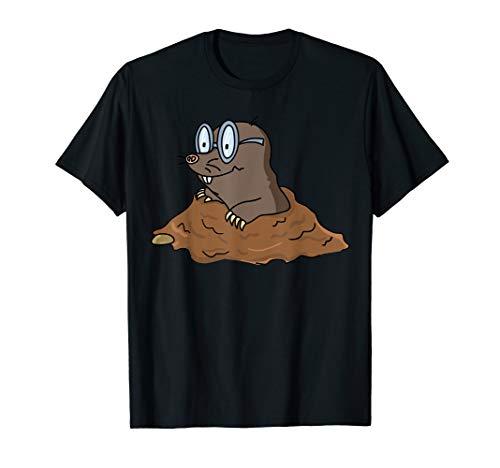 Cool Maulwurf Maulwurfshügel Maulwurfshaufen Garten T-Shirt