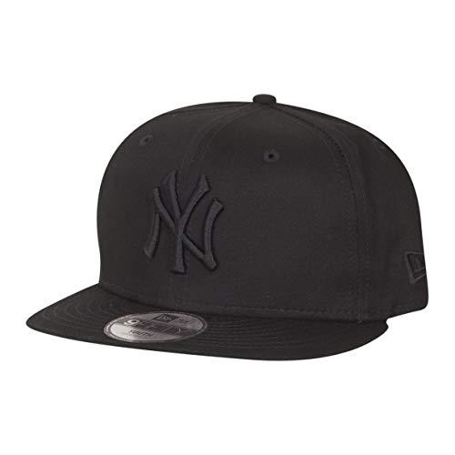 New Era Essential 9Fifty Kinder Snapback Cap NY Yankees Schwarz Schwarz, Size:Youth