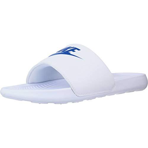 Nike Herren Victori One Slide Sandal, White/Game Royal-White, 44 EU